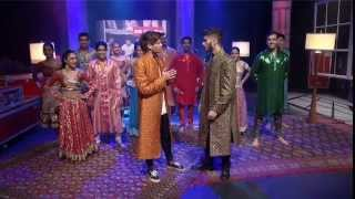 Video Zayn and Louis Takeover : 1DDay Desi Indian Style Dance (w/Scott Mills) download MP3, 3GP, MP4, WEBM, AVI, FLV April 2018