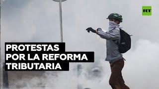 Nueva jornada de protestas en Colombia en el Día Internacional de los Trabajadores