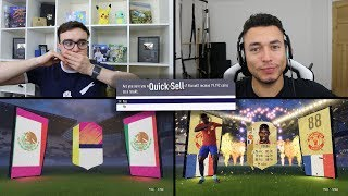 LOZANO IN THE FIRST PACK!?! Fifa 18 Guess Who Discard Challenge