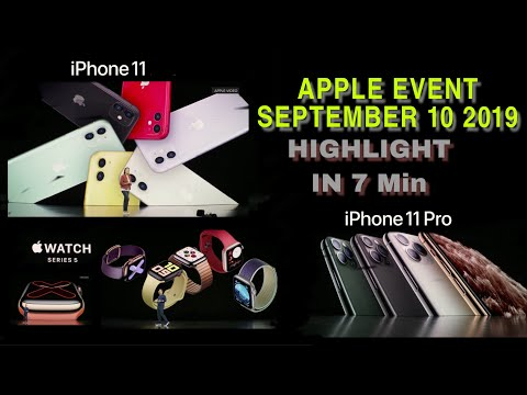 Apple 2019 September event Highlights in 7 minutes