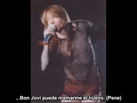 Axl Rose Vs Bon Jovi