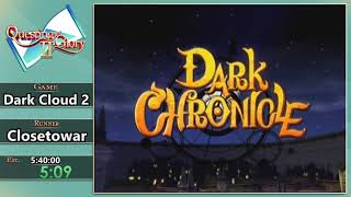 Questing for Glory 2: Dark Cloud 2 Any% by Closetowar
