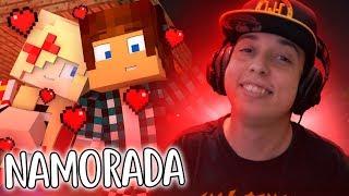 Namorada Perfeita #01 - Romance Na Escola !! Minecraft ( React )