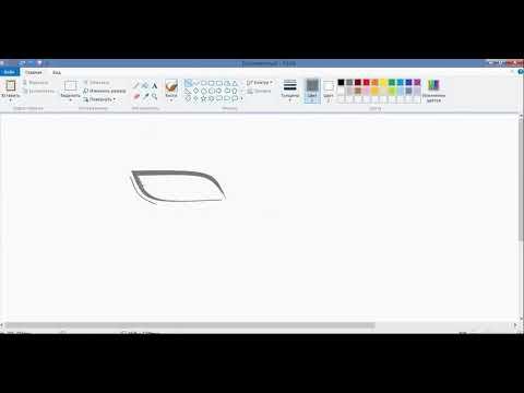 """Как нарисовать Какаши в """"paint"""""""
