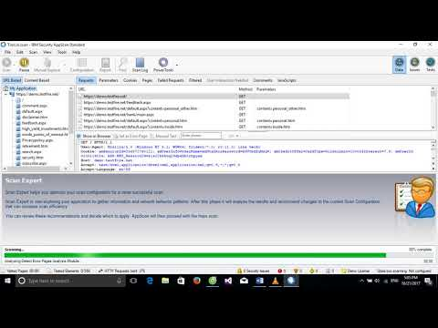Thử nghiệm SQL Injection sử dụng IBM Security AppScan