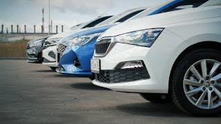 Кто лучше в классе? Vesta, VW Polo, Rapid, Solaris