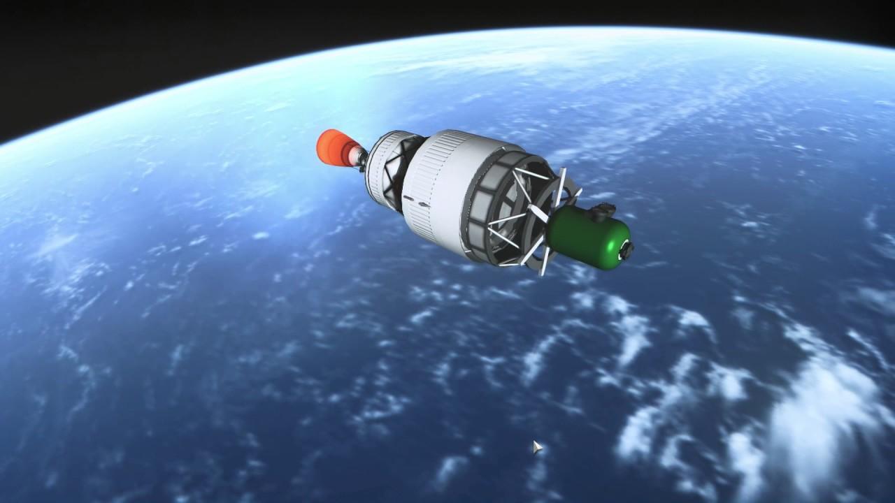 Kerbal Space Program/RSS - Extreme Texture + GEMFX Test