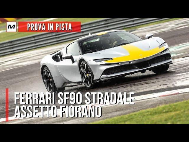FERRAI SF90 STRADALE Assetto Fiorano | La PROVA IN PISTA dei 1.000 CV Ibridi di Maranello