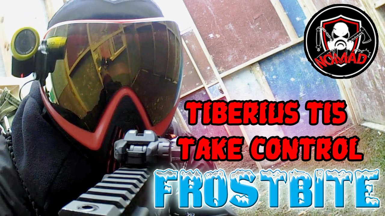 Tiberius T15 | Take Control | Frostbite | MSG Paintball by
