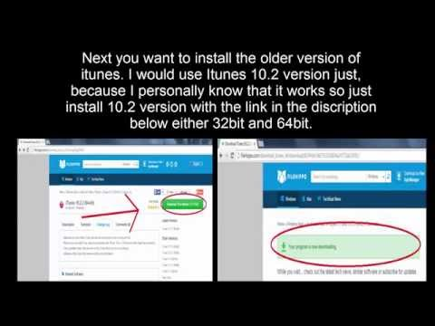 Redsnow Incomplete Itunes Libraries *FIX* WINDOWS - YouTube