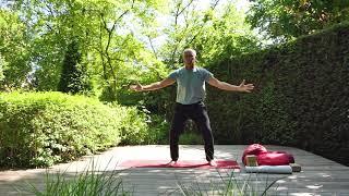 Yin Yoga houtelement Pol Bruneel