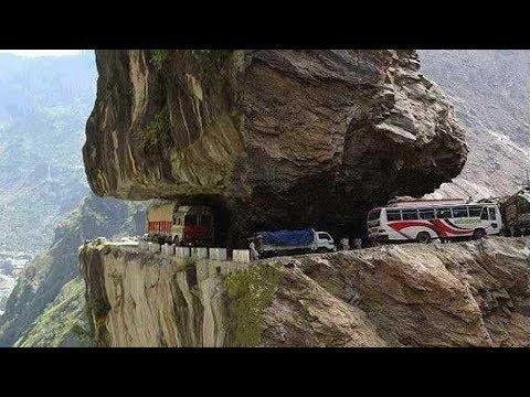 7 Jalan Paling Berbahaya Di Dunia !!! Lewat Sini Nyawa Taruhannya