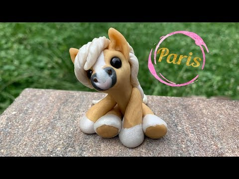 Paris polymer clay horse Tutorial