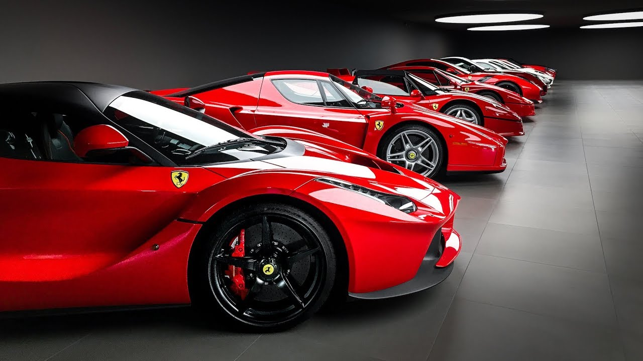 garage goals 1 the most immaculate ferrari collection in
