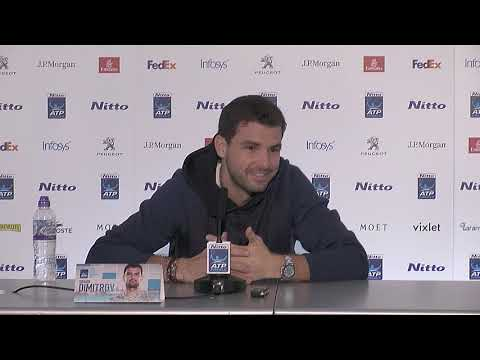 Grigor Dimitrov ATP Finals Press Conference