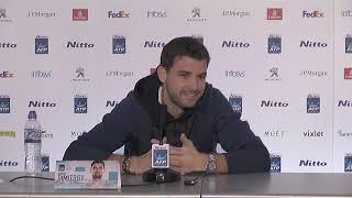 Grigor Dimitrov ATP Finals Press Conference