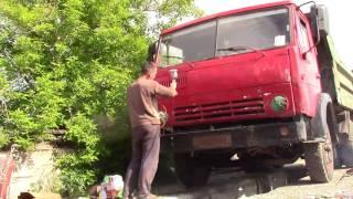 Будни камазистов - НОВЫЙ ВИД (покраска машины )