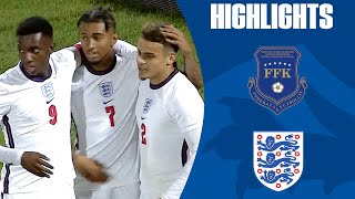 Nketiah Hat-Trick Steers The Young Lions to a Win | Kosovo U21 0-6 England U21 | Official Highlights