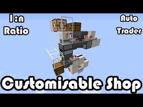 Customisable Shop [1:n Ratio] 1.8 Minecraft