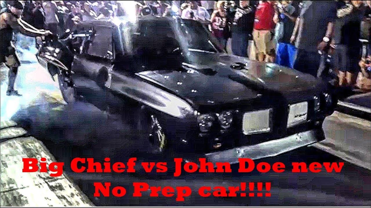 Big Chief vs John Doe at the Memphis Street Outlaws No Prep