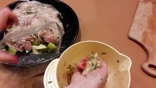 Куриные бёдрышки (в духовке) с очень вкусной приправой