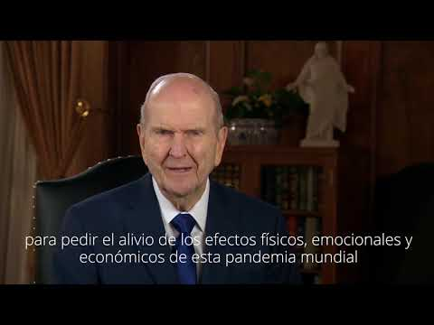El presidente Nelson invita a todos a ayunar y orar contra el coronavirus
