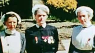 A colour home movie of the liberation of Guernsey.