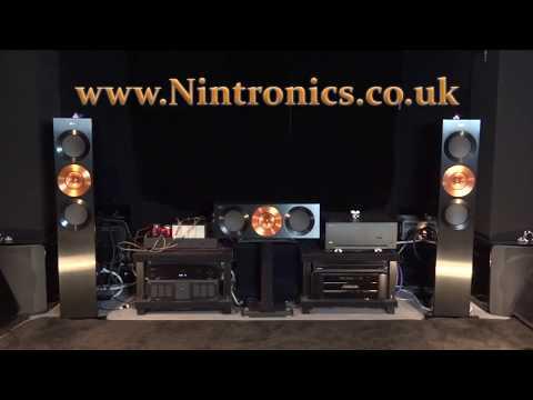 Arcam P49 Anne Bisson Blue Mind Amplifier Review + Kef Meridian SVS P 49