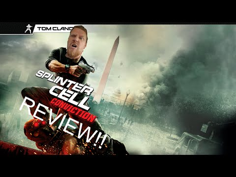 SPLITER CELL CONVICTION REVIEW!! BEST GAME EVER????