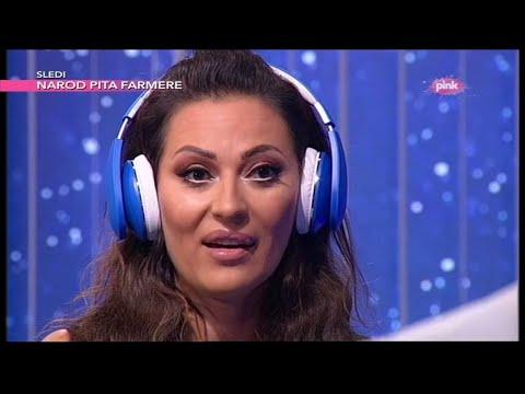 Muzicka opstrukcija - Ceca Raznatovic i Sasa Vidic (Ami G Show S08)