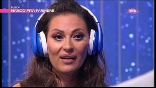 Muzicka opstrukcija  Ceca Raznatovic i Sasa Vidic (Ami G Show S08)