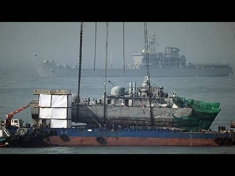 Talk of war over sinking of South Korean ship