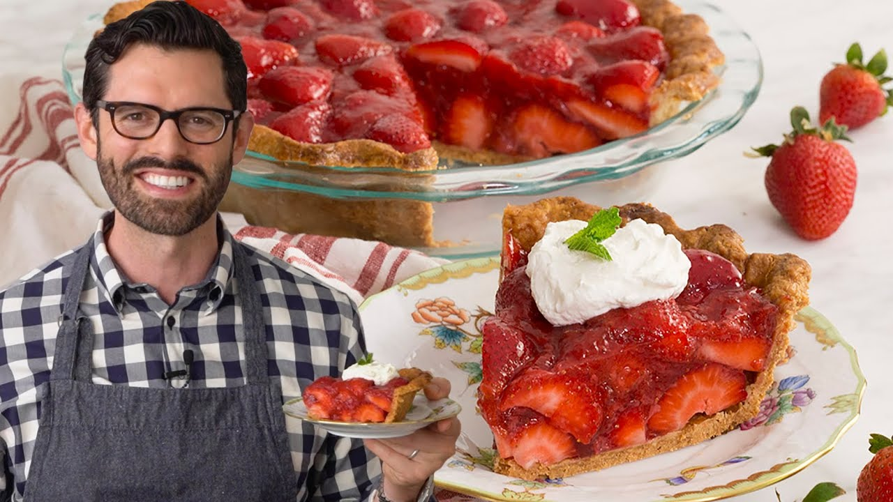 Strawberry Pie Recipe Youtube