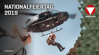 Nationalfeiertag 2019: Live vom Heldenplatz - Angelobung