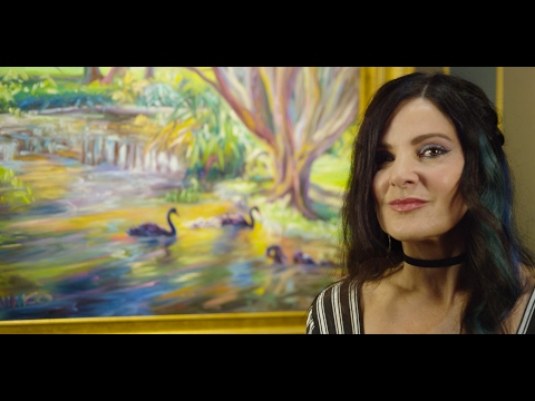 Concetta Antico - Worlds First Tetrachromat Artist - Gallery Showing