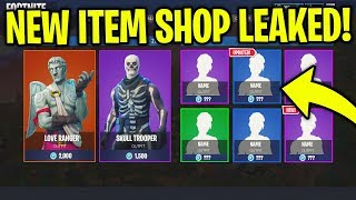 EVERY ITEM SHOP LEAKED! All Returning Skins LEAKED in Fortnite! (November 22-30th)