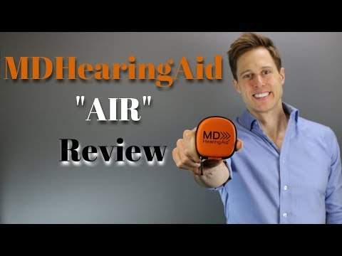 MDHearingAid Air Online Hearing Aid Review