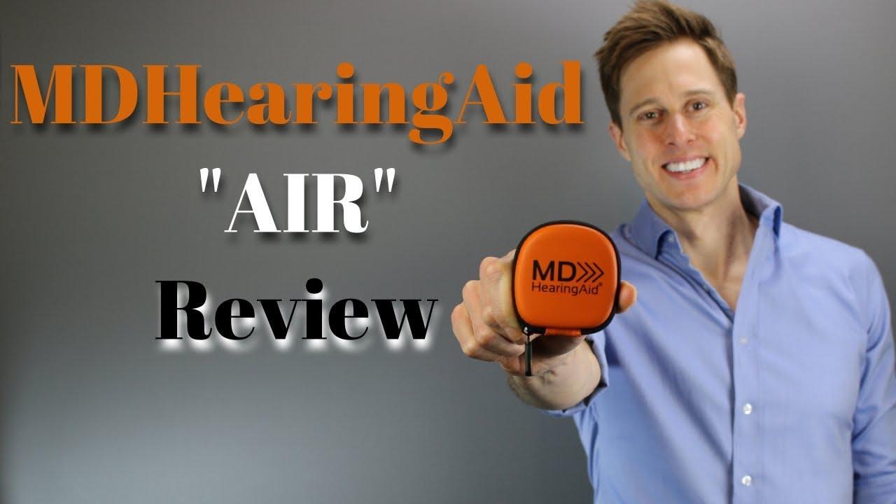 Mdhearingaid Air Online Hearing Aid Review Youtube