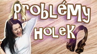 PROBLÉMY HOLEK s dlouhými vlasy l Veronika Spurná