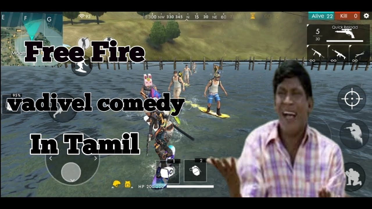 Free fire vadivel comedy for whatsapp status in tamil/TGS ...