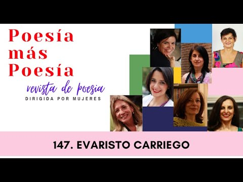 147 POESÍA MÁS POESÍA EVARISTO CARRIEGO