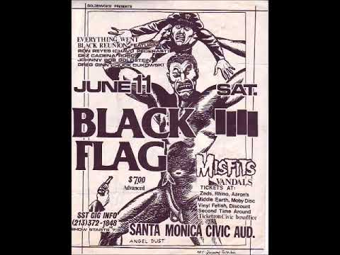 Black Flag - Live @ Santa Monica Civic Center, Santa Monica, CA, 6/11/83