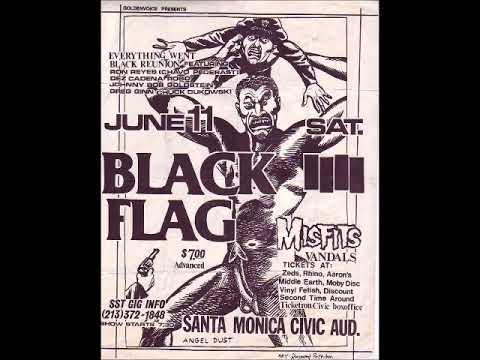 Black Flag - Live @ Santa Monica Civic Center, Santa Monica, CA, 6/11/83