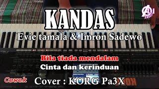 Download Mp3 KANDAS Imron Sadewo dan Evie Tamala Karaoke Dangdut Korg Pa3X