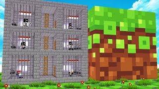 So lebst du im kleinsten Gefängnis (1 Block) 😂