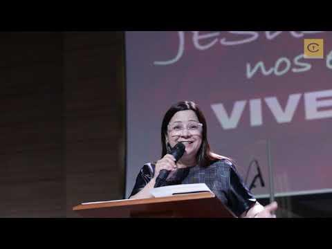 O que Jesus nos ensina sobre viver bem | Prª Marinez Candido | 10-11-2019