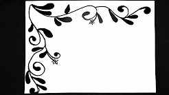 Border Designs Black And White Black And White Border Project