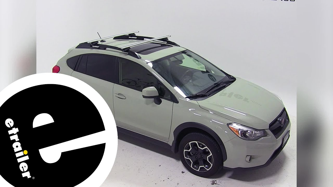 Best 2016 Subaru Crosstrek Roof Rack Options Etrailer