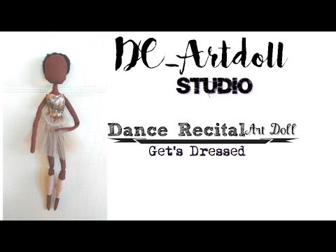 Dance Recital Art Doll/ Dressing the doll/DCArtdoll_Studio