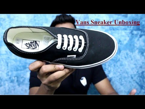 UNBOXING: Vans ERA The most affordable vans Sneaker |HINDI | INDIA
